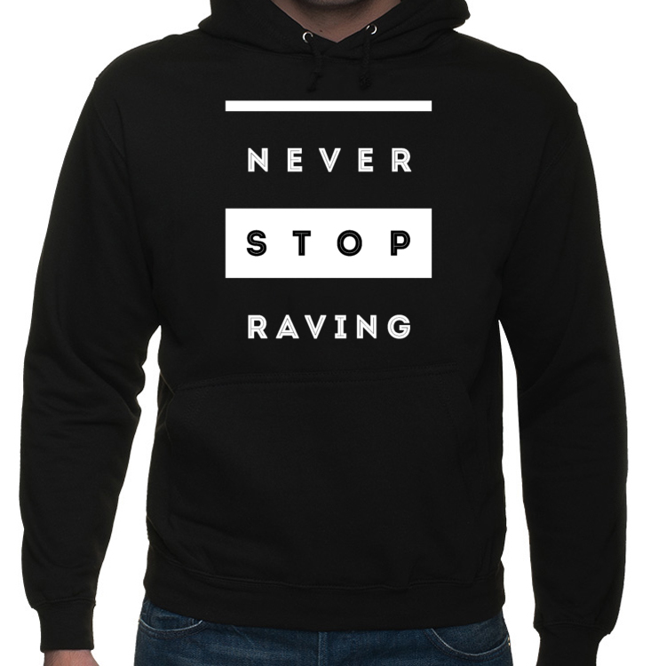 NEVER STOP RAVING BLUZA