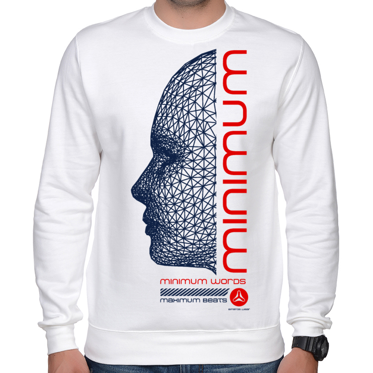 MINIMUM WORDS MAXIMUM BEATS BLUZA